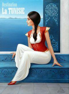 Arabian Art, Drawing For Beginners, Jolie Photo, Arabian Nights, Vintage Travel Posters, Whimsical Art, Woman Painting, Cartoon Art, Cool Drawings