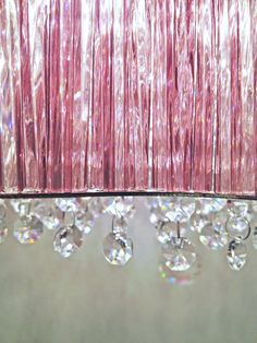 creative creations lighting. Love These Gorgeous Crystals On This Chandelier. #decor #interiordecor # Lighting #pink Creative Creations