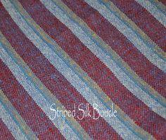 Mens necktie silk personalized monogrammed handmade designer formal wear AC Ashworth & Company, USA. $60.00, via Etsy.