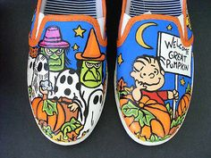 Peanuts It's the Great Pumpkin Charlie Brown Shoes