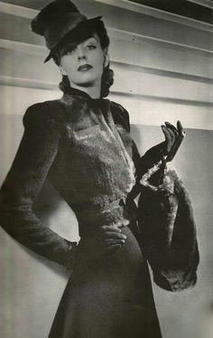 1939 short fur jacket