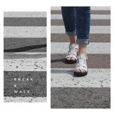 STREETSTYLE // Descubre toda la colección de sandalias para Mujer en la Tienda Online de Break&Walk.