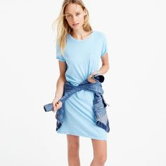 Pin for Later: The Editor-Approved Summer Staple You Can Wear Almost Anywhere  Garment-dyed pocket T-shirt dress ($60)