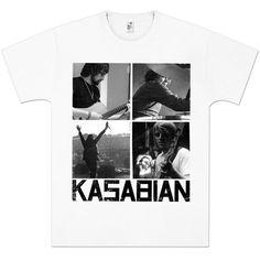 Check out Kasabian Photo Squares T-Shirt on @Merchbar.