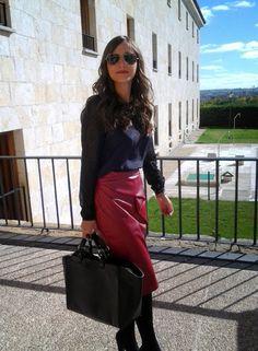 1000 maneras de vestir: Noir et Bordeaux
