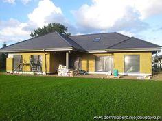 blog budowlany - mojabudowa.pl Bungalow House Design, 3 Bedroom House, Dream House Plans, Shed, House Ideas, Outdoor Structures, Outdoor Decor, Photos, Home Decor