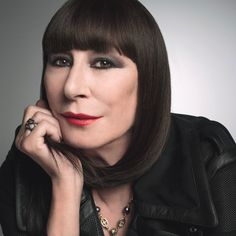 The New Royals - Anjelica Huston. Photo by Inez and Vinoodh for W Mag. October 2014. I don't like how much they faked her upper lip line with lip liner (looks like duck face), but otherwise she looks fabulous.