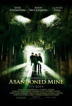 Abandoned Mine (3 stars) Against all logic, I enjoyed this PG-13 Halloween centered horror movie. The director achieved a moody atmosphere down in the mines. The story is clunky and the reveal really wasn't anything that a grade schooler couldn't guess, but the actors were genuine in their portrayals and somehow it just clicked for me. Nothing new or spectacular by any means, but it was watchable which is more than I can say for the last handful of horror movies I've seen.