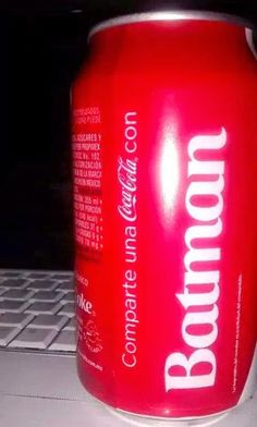 The Name BATMAN Gets its Own Coca-Cola Coke Can! i think i need this