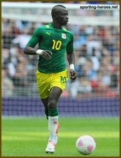 Sadio MANE - Senegal - 2012 Olympic Games.