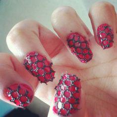 Love my new lace naisl!