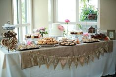 Weddings - Dessert Bar - VG Donuts and Bakery