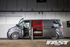 Image result for vw t5 #VolkswagenTransporter Vw Transporter Van, Vw T5, Vw Camper, Campers, Aston Martin Cars, Custom Vans, Van Life, T4 Caravelle, Vw Vans
