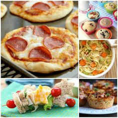 100+ School Lunches Ideas the Kids Will Actually Eat - One Crazy House
