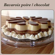 Voici le dernier dessert que j'ai inventé pour l'apporter chez des amis dimanche dernier, c'est un Bavarois poire / chocolat ... une merveille en bouche !!! Tous les invités ont été unanimes et l'on apprécié, j'étais contente !!! Le plus difficile lorsqu'on...