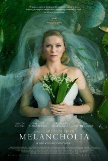"""Melancholia. Movie. Does something that no other movie has done (for me) before. It hits on a really deep and primal fear, without being a strict """"horror"""" movie. Haunting."""