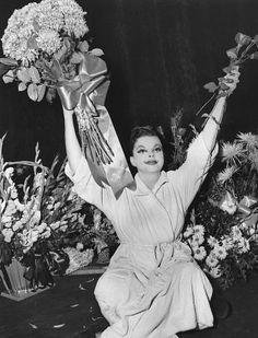 Judy Garland, at the Palace in New York, 1951