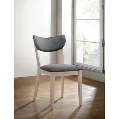 Sedia dal design moderno con struttura in acciaio e