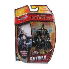 DC Comics Multiverse Batman Armored 4-inch Action Figure - http://lopso.com/interests/dc-comics/dc-comics-multiverse-batman-armored-4-inch-action-figure/