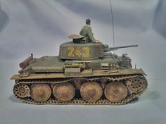 Pz.38(t) ausf.E Tristar kit. Scale 1/35 Made by BM