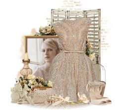 """""""Elie Saab With A Vintage Feel"""" by stacey-yecats on Polyvore"""