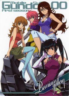 Gundam 00, Hands On Hips, Saeran, Mecha Anime, Anime Girl Cute, Anime Artwork, Mobile Suit, Light Novel, Entertainment