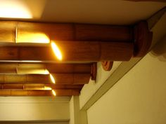 Laureles Penthouse Proyect - Bamboo roof and lamps