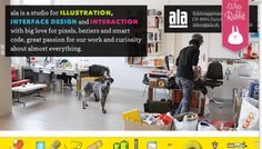 ala - Web design inspiration from siteInspire #webdesign