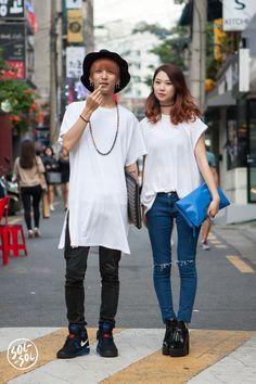 street fashion in Seoul