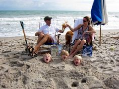 How to have a relaxing day at the beach!