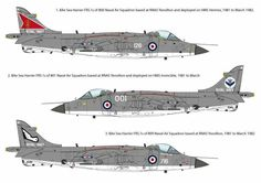 RN Harrier British Aerospace, Falklands War, Royal Navy, Military Aircraft, Wwii, Aviation, Jet, Airplanes, Colours