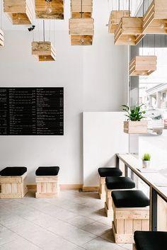 boutique australienne en palettes For Interieur via Nat et nature
