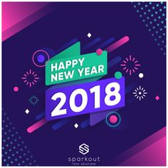 New year 2018 background with fireworks Free Vector Happy New Year Sms, Happy New Year Message, Happy New Year Images, Happy New Year Design, New Year Music, New Year Banner, New Year Designs, Event Banner, New Year Greeting Cards