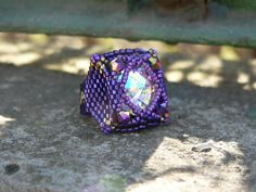 Salinas Ring beaded by Mariann Gold. Beautiful! Thank you for the photo!