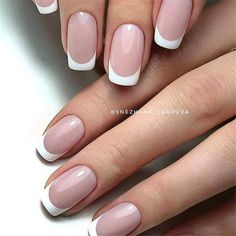Want to know how to do gel nails at home? Learn the fundamentals with our DIY tutorial that will guide you step by step to professional salon quality nails. French Acrylic Nails, French Manicure Nails, French Tip Nails, Gel Nails, Nail Polish, Elegant Nails, Stylish Nails, French Tip Nail Designs, Dipped Nails
