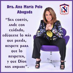 #AnaMariaPolo es abogada con doctorado en Derecho, presentadora de televisión (Caso Cerrado) y cantante Cubano-Estadounidense.