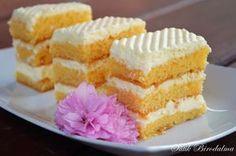 SÜTIK BIRODALMA: Citromkrémes szelet / Lemon cake