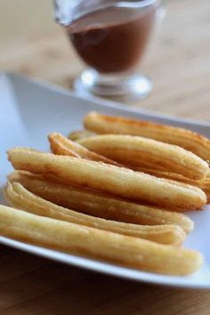 The origin of Spanish churros is very controversial. Find out the story and authentic recipe of chocolate con churros.