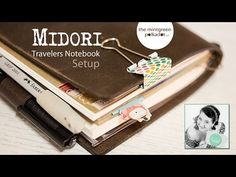 VIDEO: Update on my Planner Setups & a Look inside my new Midori Travelers Notebook | The Mintgreen Polkadot