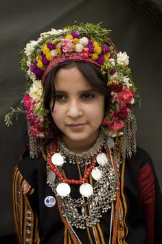 Young Girl In Traditional DressYemen