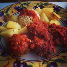keftedakia / κεφτεδακια / Boulettes de viande grecques à la sauce tomate #greece #athens Grèce, Athènes