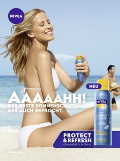 NIVEA Sun Protect & Refresh #summer #fresh #nivea