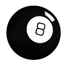 The original Magic 8 Ball has the answers to all of your most pressing questions! This novelty toy offers fortune-telling fun and intrigue for everyone. Start by asking the ball any yes or no question, then turn it over to see your answer appear inside the window. Answers range from positive (It is certain) to negative (Dont count on it) to neutral (Ask again later). If you seek advicethen this toy is for you! Colors and decorations may vary.