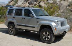"lifted jeep liberty | Jeep Liberty 4"" Adjust-A-Strut system"