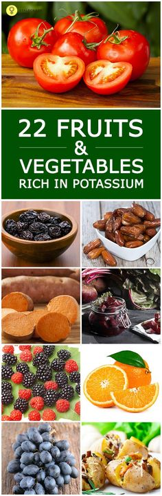 Potassium is a vital nutrient important for the body. This can be obtained by including potassium rich fruits & vegetables in your diet. Here is the list of best 22!