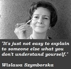 Wislawa-Szymborska, Nobel prize winning  Polish poet