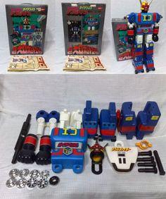 Giant robot factory Daidenjin Denshi Sentai Denziman box attaching used _ image 3