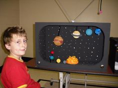 ... solar system projects displaying