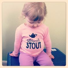 Toddler Short and Stout I'm a little Teapot shirt hand stenciled made to order size 12M to 5T. $15.00, via Etsy.