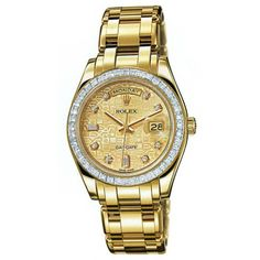 http://www.horloger-paris.com/fr/2974-rolex   Rolex Oyster Perpetual Day-Date Or Jaune ...